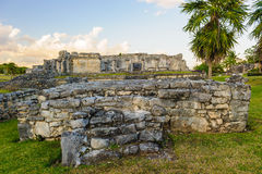 Ruins of Tulum Royalty Free Stock Photo