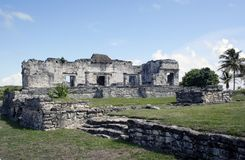 Ruins at Tulum Mexico 2 Royalty Free Stock Image