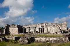 Ruins in Tulum, Mexico Royalty Free Stock Images