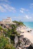 Ruins of Tulum / Mexico. Ruins of Tulum in Mexico, near Cancun Royalty Free Stock Image