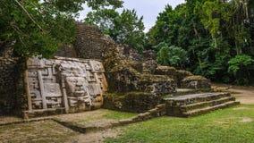 Ruins of Tulum. Panorama of the ruins of Tulum, Mayan city, Yacatan, Mexico Stock Photos
