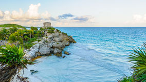 Ruins of Tulum Stock Photos