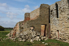 Ruins of Tupolme Abbey, near Woodhall Spa Lincolnshire, Stock Photography