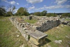 Ruins from Ulpia Traiana Sarmizegetusa Royalty Free Stock Photo