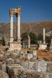 Ruins of the umayyad medieval city Anjar Stock Images