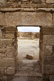 Ruins of Umm Ar-Rasas - King's Highway in Jordan Stock Photography