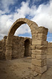 Ruins of Umm Ar-Rasas - King's Highway in Jordan Stock Photo