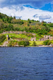 Ruins of the Urquhart Castle in Loch Ness Scotland Stock Photo