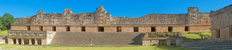 Ruins of Uxmal - ancient Maya city. Yucatan. Mexico royalty free stock photos