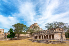 Ruins of Uxmal, Mexico Stock Photography
