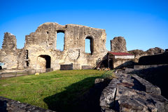 Ruins in Valkenburg, Netherlands Royalty Free Stock Image