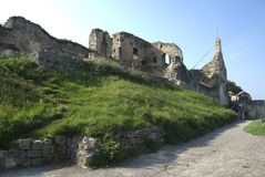 Ruins of Valkenburg, the Netherlands Stock Photo