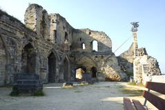 Ruins in Valkenburg, the Netherlands Royalty Free Stock Photo