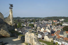 Ruins in Valkenburg, the Netherlands Stock Photos