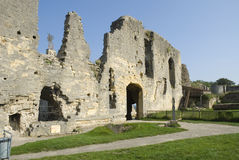 Ruins in Valkenburg, the Netherlands Royalty Free Stock Photography