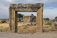Ruins, vault in Turkey Royalty Free Stock Image