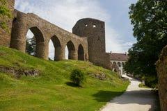 Ruins of Velhartice castle. Czech republic. Ruins of Velhartice castle. South Bohemian region. Czech republic royalty free stock photography