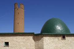 Ruins of very old mosk in Ar-Raqqah in Syria Royalty Free Stock Image