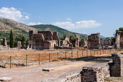 Ruins of Villa Adriana near Rome, Italy Royalty Free Stock Photography