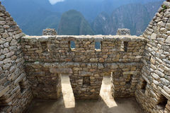 Ruins of village Machu-Picchu Royalty Free Stock Images