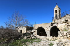 The ruins of the village of the Maronites Stock Photos