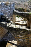 The ruins of the village of the Maronites Royalty Free Stock Photo
