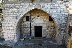 The ruins of the village of the Maronites Royalty Free Stock Images