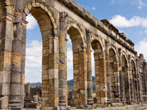 Ruins at Volubilis Morocco Royalty Free Stock Photography