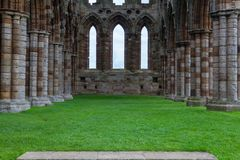 Ruins of Whithby Abbey Royalty Free Stock Photo