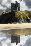 Ruins of a wild atlantic way castle Royalty Free Stock Photography