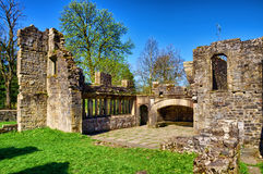 Ruins of Wycoller Hall Royalty Free Stock Image