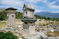 Ruins of Xanthos Royalty Free Stock Photos