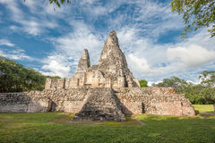 Ruins of Xpujil, Yucatan, Mexico Stock Photography