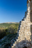 The ruins of Yehiam Fortress, Israel Royalty Free Stock Photos