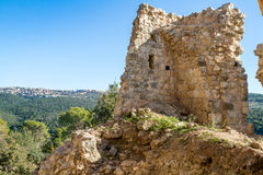 The ruins of Yehiam Fortress, Israel Stock Images