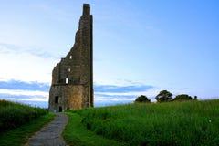 Ruins of St Mary`s Abbey, Trim, Ireland stock photo