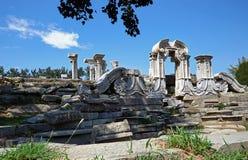 Ruins of Yuan Ming Yuan Stock Photos