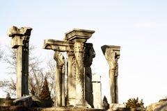Ruins of Yuanmingyuan park Stock Images