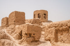 Ruins of The Zoroastrian Fire Temple Royalty Free Stock Photography