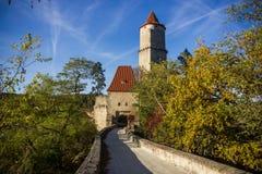 Ruins of Zvikov castle. Czech Republic royalty free stock image