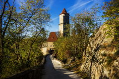 Ruins of Zvikov castle. Czech Republic royalty free stock images