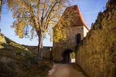 Ruins of Zvikov castle. Czech Republic stock images