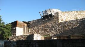 Ruiny: ściany i kasztele Fotografia Royalty Free