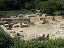 Ruiny świątynia Ammon Zeus Obraz Royalty Free