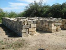 Ruiny świątynia Ammon Zeus Obrazy Royalty Free