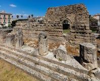 Ruiny świątynia Apollo Zdjęcie Royalty Free