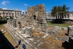 Ruiny świątynia Apollo Obraz Royalty Free