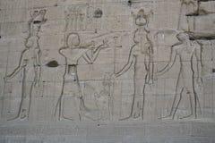 Ruiny świątynia bogini miłość w Denderze Zdjęcia Royalty Free