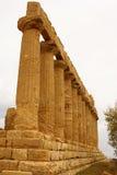 Ruiny świątynia Concordia, Valey świątynie, Agrigento, S Fotografia Royalty Free