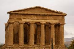 Ruiny świątynia Concordia, Valey świątynie, Agrigento, S Zdjęcie Royalty Free